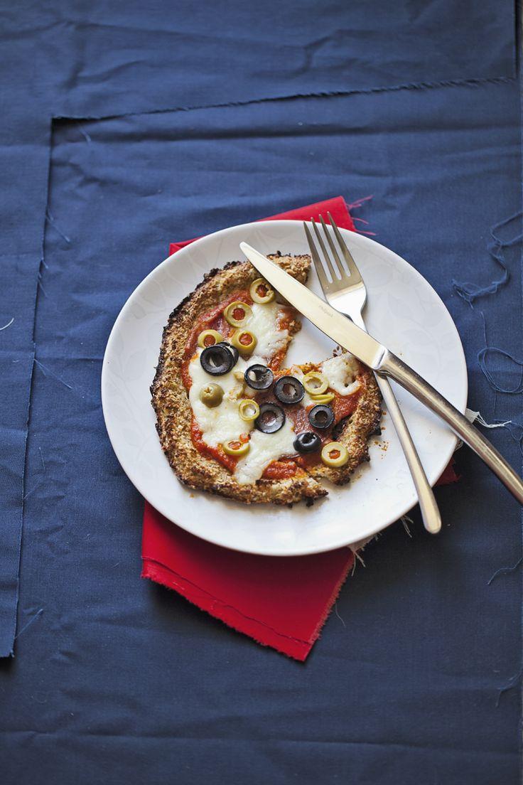 ciasto do pizzy z kalafiora