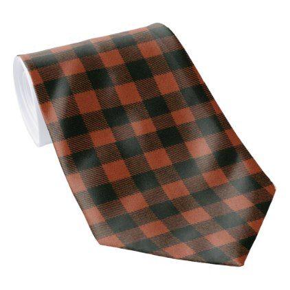 MacGregor Rob Roy Ancient Scottish Tartan Tie - traditional gift idea diy unique