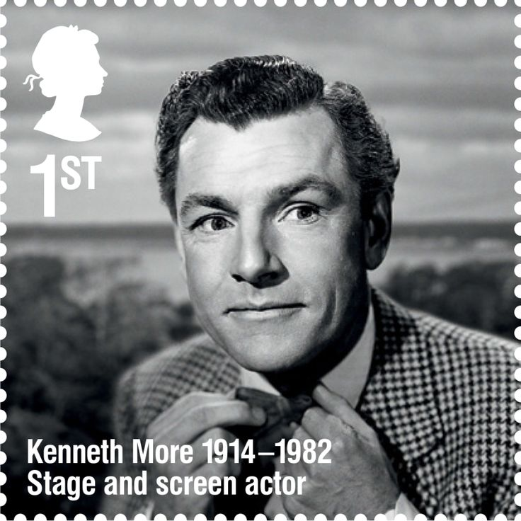 The Kenneth More stamp
