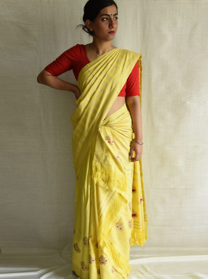 #MekhelaChadar #Silk #Assam #Traditional