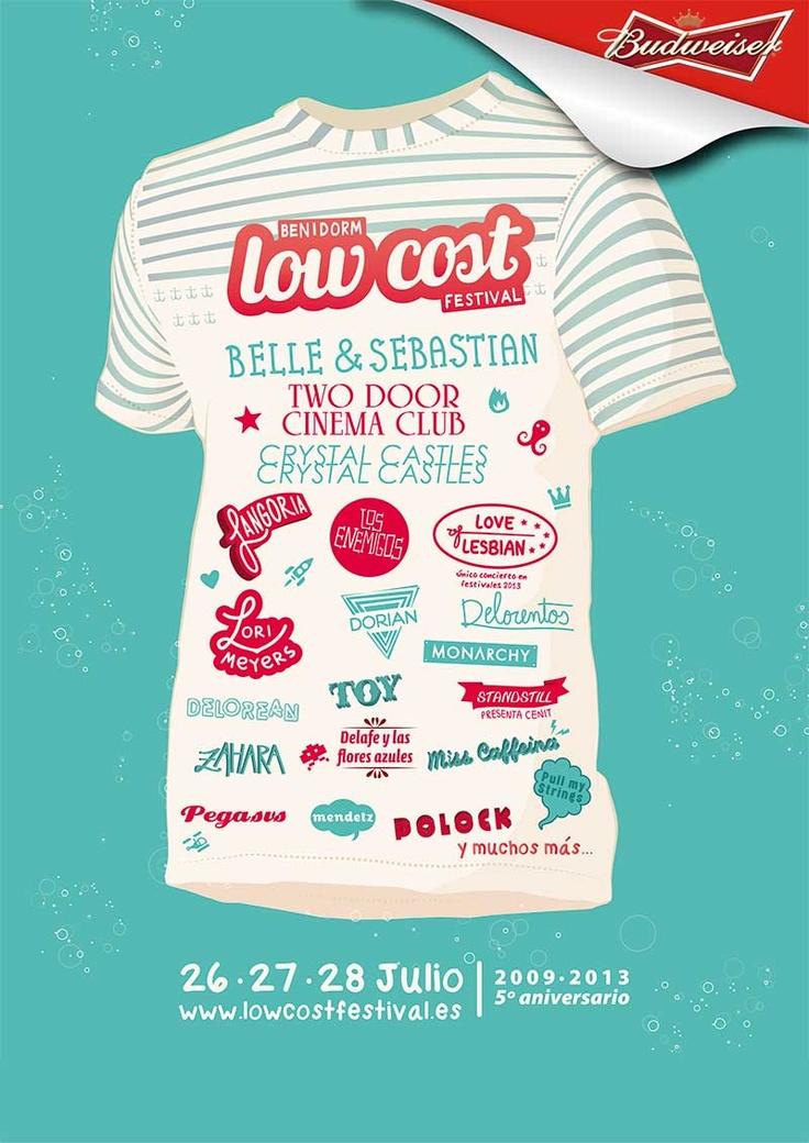 Low Cost 2013 - pincha en la imagen para comprar tu entrada