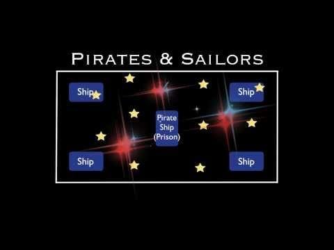 PE Games - Pirates & Sailors