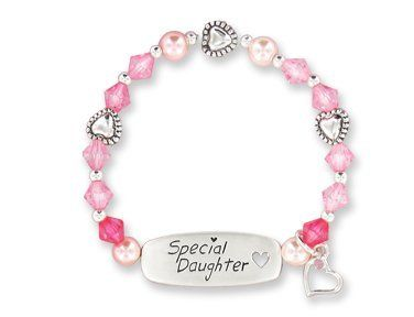"Childrens Jewelry Keepsake Daughter Gift Bracelet Abernook. $9.98. Approximately 6"" in length.. This fun bracelet says it all. Individually gift box with a verse card."