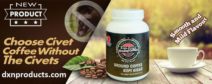 Smooth, healthy, brand new DXN coffee flavour! Register for discounts:http://dxnproducts.com/membership-contract-for-private-persons/
