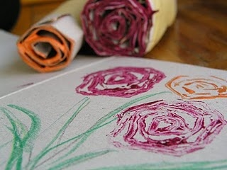 Cardboard Flowers Drawing Tutorial...I would like to try this with charcoal...
