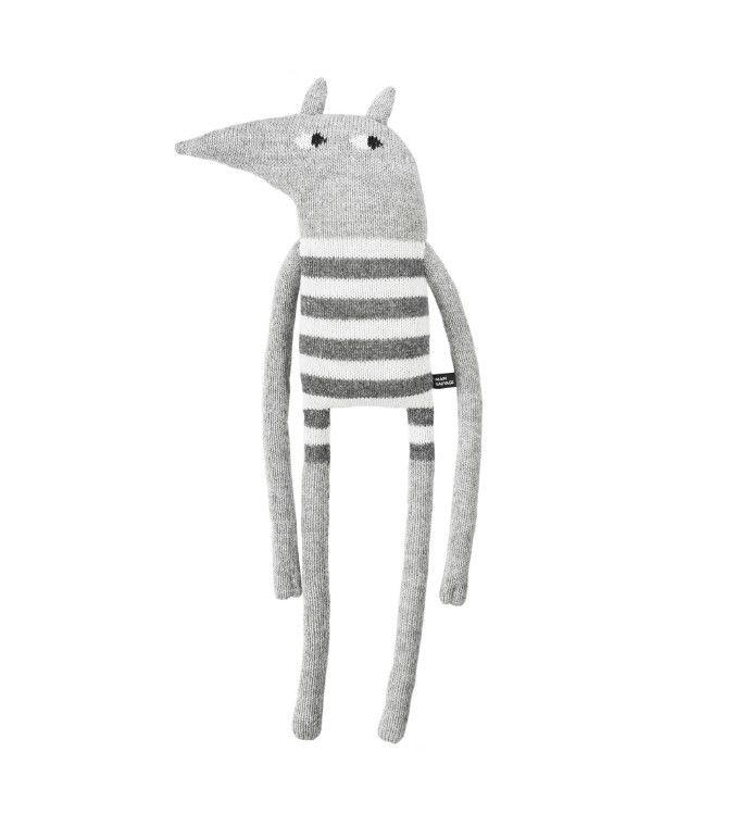 Striped Gray Wolf