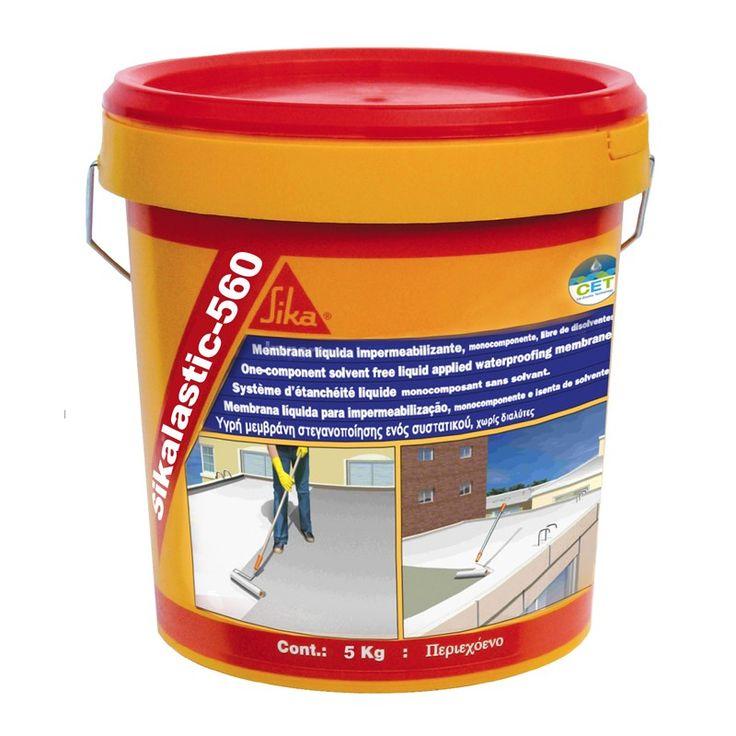 Sikalastic®-560 - Sikalastic®-560 es una membrana líquida impermeabilizante para cubiertas, económica y ecológica basada en la CO-Tecnología Elástica (CET) de Sika.