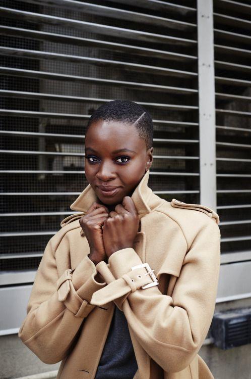 fckyeahprettyafricans: fuzzielogic: Danai Gurira by Annabel...