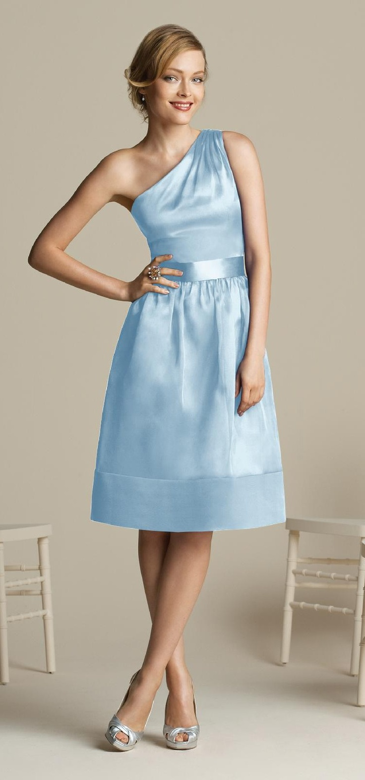 Bridesmaid dress ice blue themes colors pinterest for Ice blue wedding dress