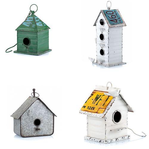 Domki dla ptaków do ogrodu i na taras. Piękna dekoracja ALURO