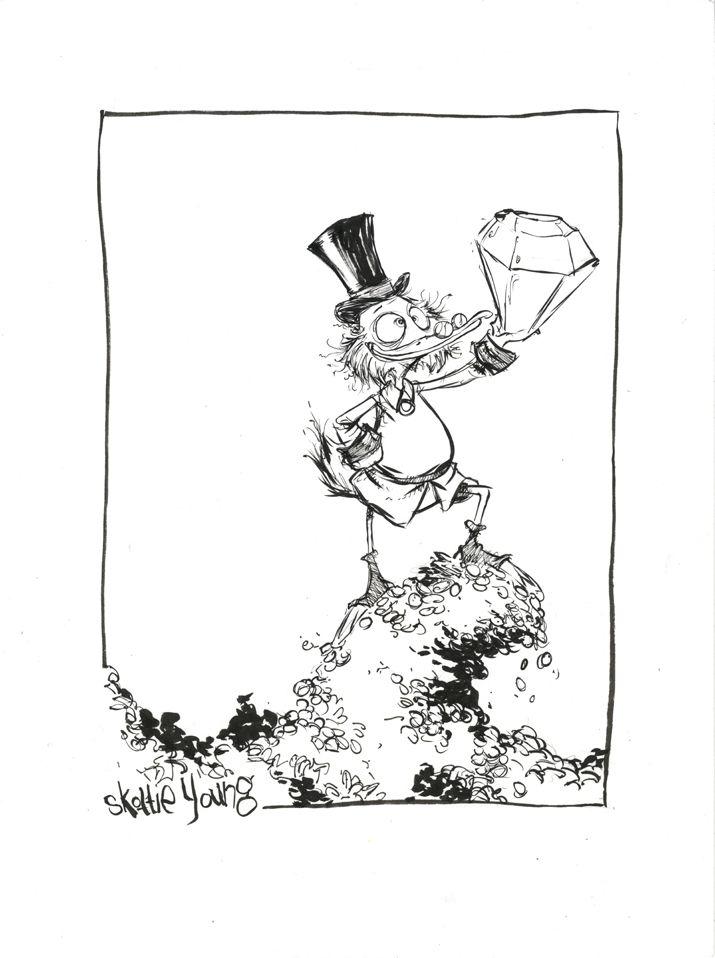 Scrooge McDuck by *skottieyoung on deviantART