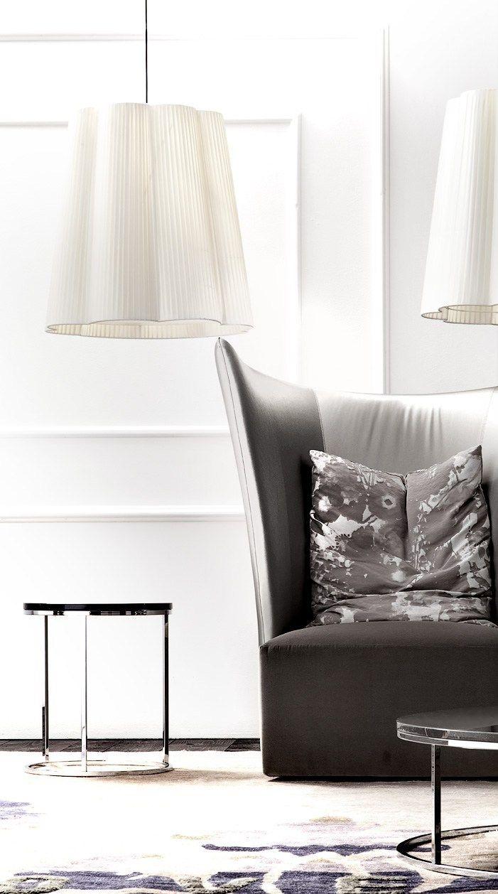 Direct light pendant #lamp FIORE by ERBA ITALIA | #design Giorgio Soressi