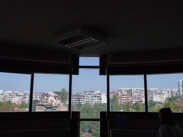 A view of the city from inside the new Sofia Baptist Centre in Sofia, Bulgaria, the site of the 2105 European Baptist Federation Council Meeting (Sept. 23 - 26). Photo provided by EBF.