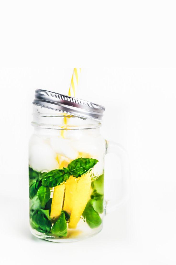 Basil Mint Lemonade Recipe