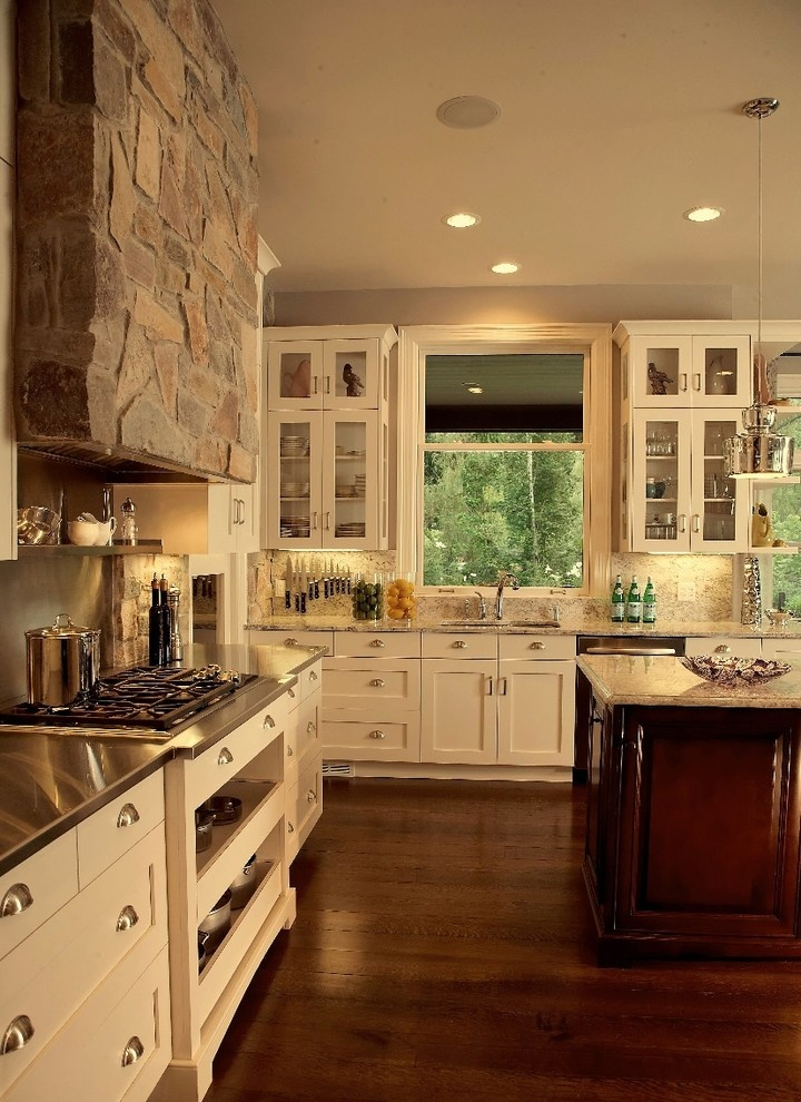 Elegant Prairie Style Home Kitchen ~ Oh, If I Could Build, Live In, Sell