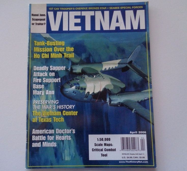 Vietnam Magazine Tank Busting Mission Over the Ho Chi Minh Trail 2005