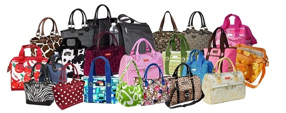 Sachi insulated bags. Bring your lunch to work or school in style.