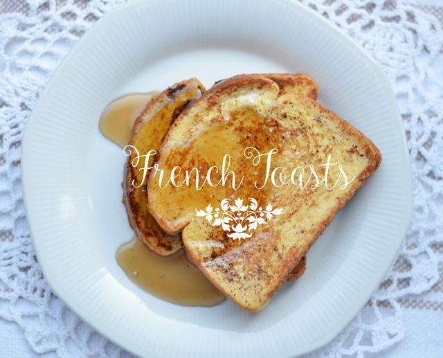 Receta: French Toasts ó tostadas a la francesa