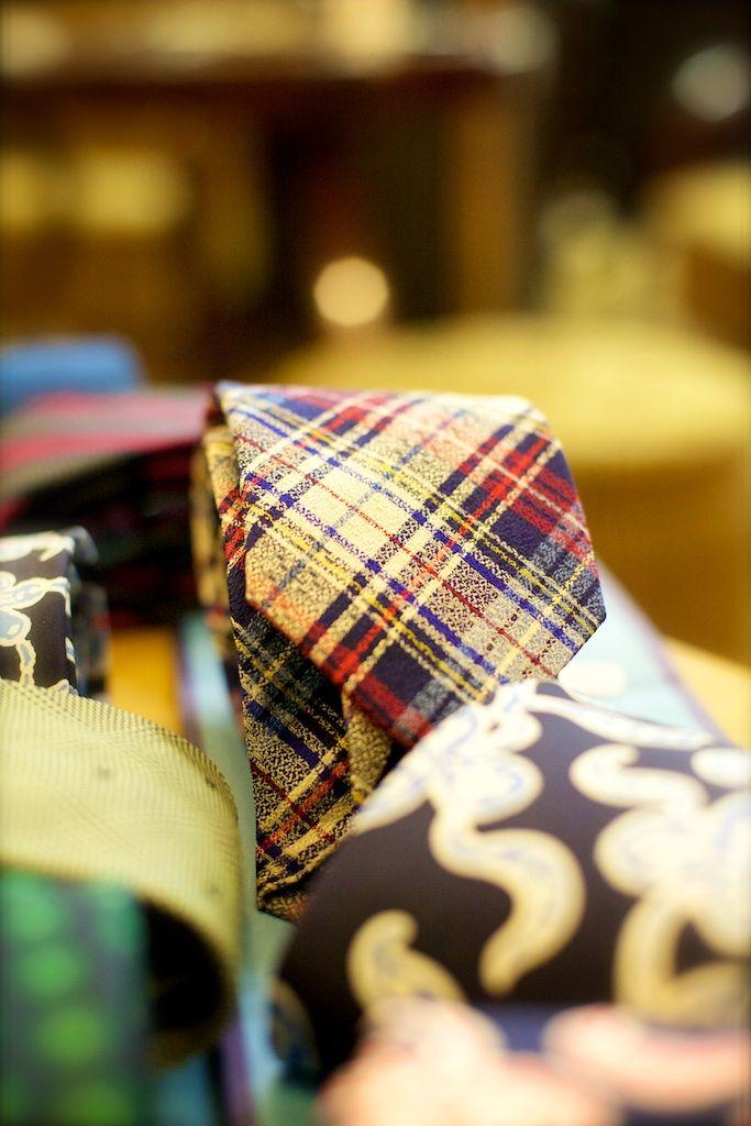 Beautiful ties from Drake's of London.
