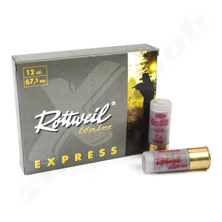 Rottweil Express 12/67,5 Schrotpatronen - 10 Schuss