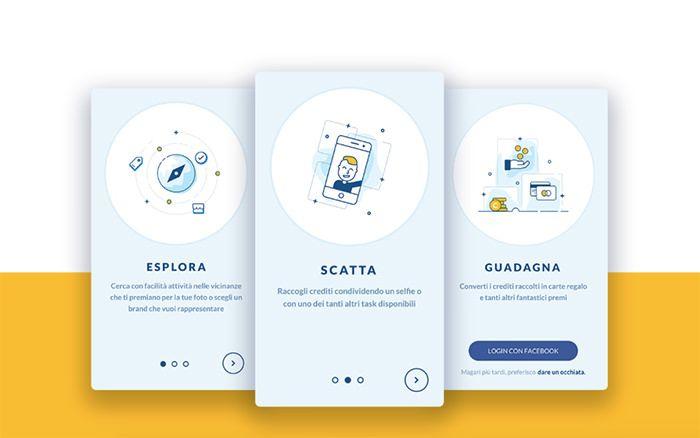 40 примеров шикарного дизайна мобильного приложения   Say-hi