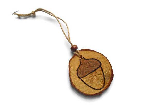Acorn Ornament  Acorn Decoration  Christmas Tree Decor