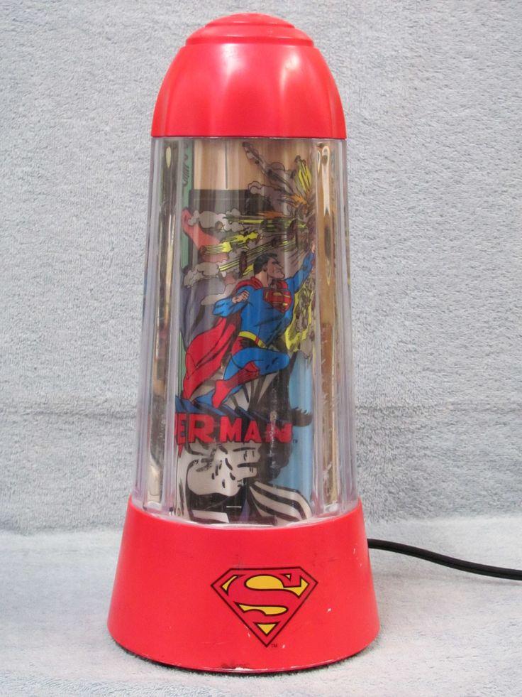SUPERMAN CLASSIC MOTION LAMP