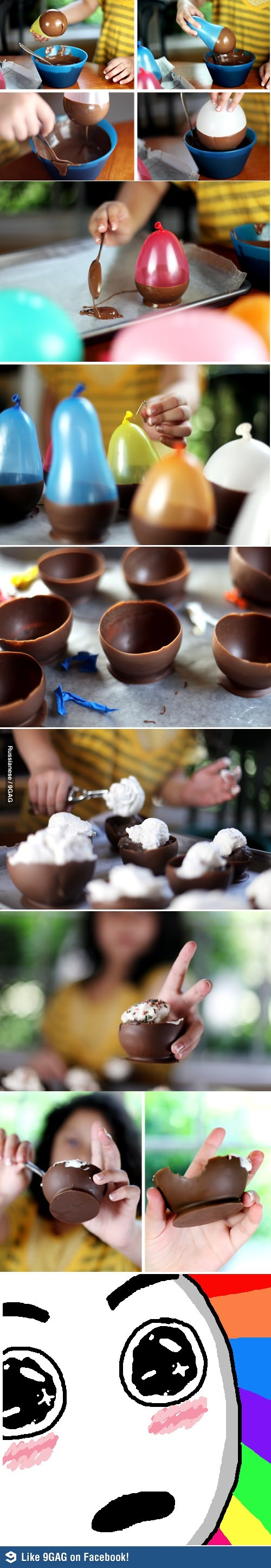 I heard you like Chocolate cups