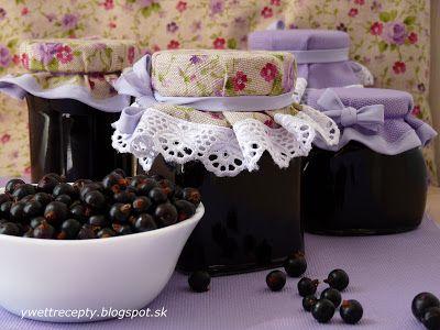receptyywett                                                 : Džem z čiernych ríbezlí a výborná bublanina.