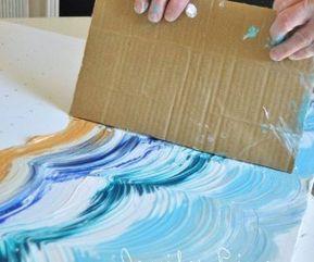 Okul Oncesi Egitimde Artik Materyallerle Boyama Ve Baski