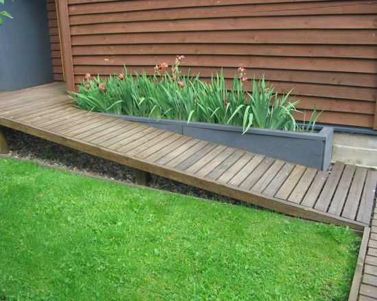 Landscape Wheelchair Ramp Design, Pictures, Remodel, Decor and Ideas - page 5                                                                                                                                                      More