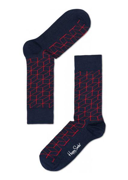 Fun socks for happy people at Happy Socks! Optic blue sock