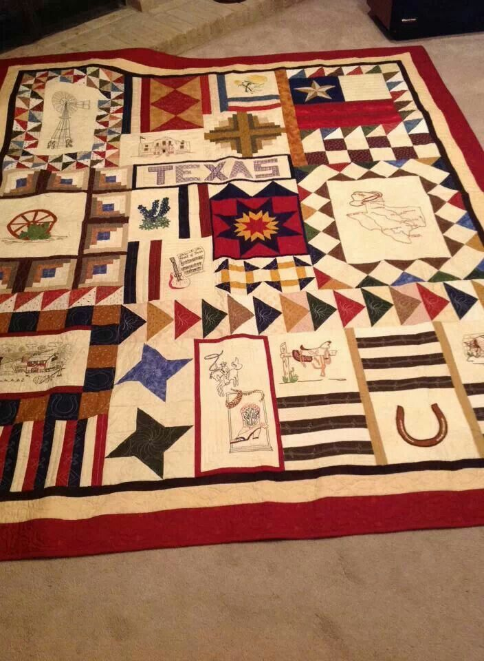 17 Best Images About Texas Quilts On Pinterest Quilt