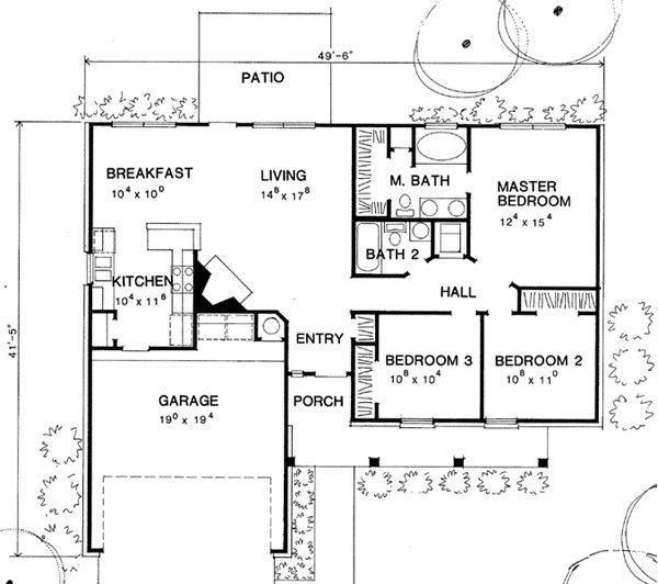 1000 images about house plans on pinterest house plans for Floor plans 1200 sq ft ranch