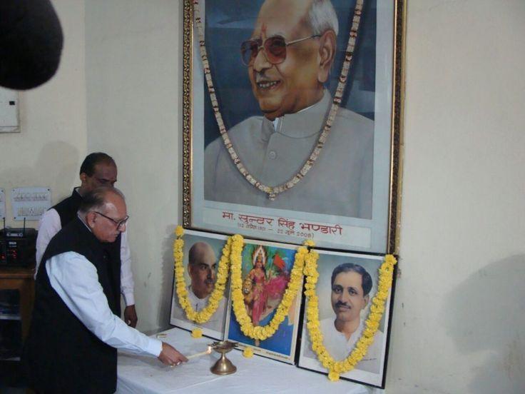 """संगठन के साथ कई वर्षों से जुड़े हुए अनुभवी एवं निष्ठावान कार्यकर्ताओं को प्रदेश भाजपा मुख्यालय में आमंत्रित कर उनके साथ भारतीय जनता पार्टी की """"विस्तारक योजना"""" साझा की गई तथा उसकी उपयोगिता पर विस्तार से प्रकाश डाला।"""