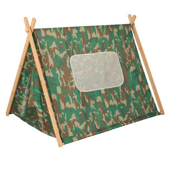 Coole tent voor een echte dinokamer!