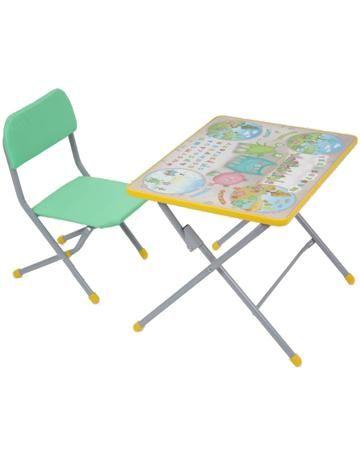 """ФЕЯ КОМПЛЕКТ детской мебели """" Досуг №101""""  — 1577р. ------------ В комплект детской мебели Фея Досуг 101 предназначенный для обучения и игр деток от 3 до 7 лет, входит стол из прочного ЛДПС с глянцевой пленкой и удобный стульчик. Все изделия данного набора имеют закругленные углы, поэтому не травмоопасны для малыша.  Стул и стол очень легко и быстро складываются до компактных размеров, поэтому не нужно много свободного пространства для их хранения. Прочность конструкции придает…"""