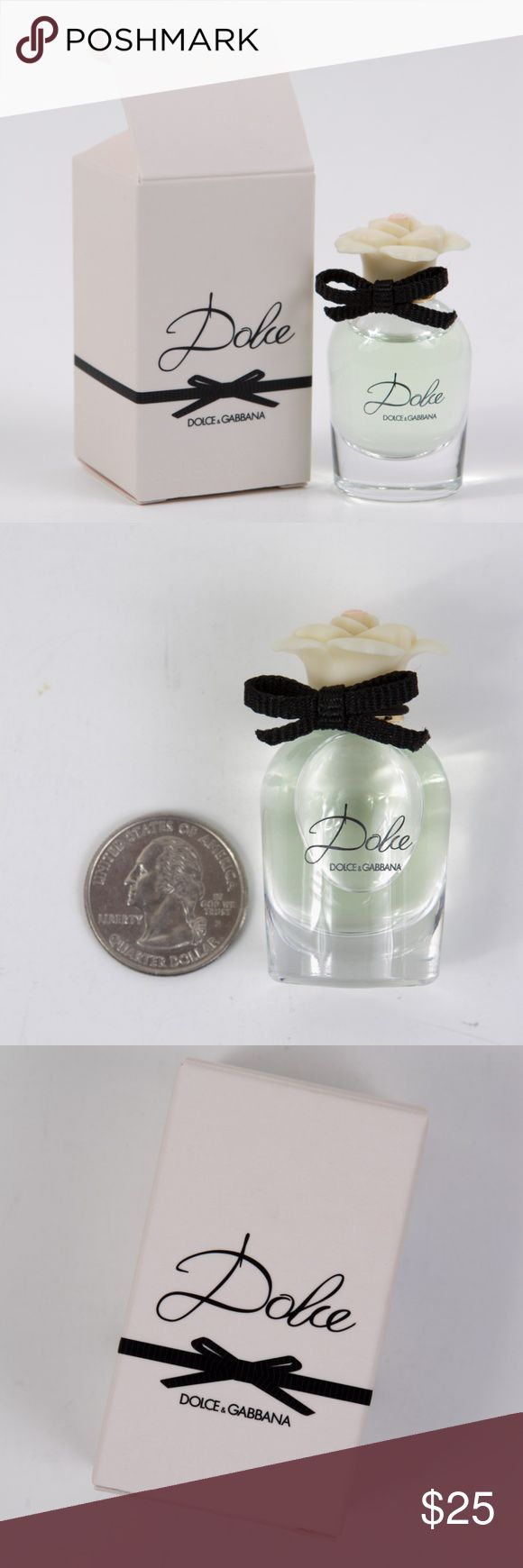 Dolce & Gabbana Dolce Eau De Parfum Deluxe Mini New. Unused. Authentic. No trades.  Perfect for travel or to try out before committing to full size. Please note item → size ← before purchasing.   You will receive the following miniature:  Dolce & Gabbana Dolce Eau De Parfum Miniature Splash in box  Size: 0.16 fl. oz./5 ml. Quantity: 1   Please note: NOT accepting offers for this item. Price is firm.  Tags: parfum perfume toilette fragrance scent Dolce & Gabbana Other