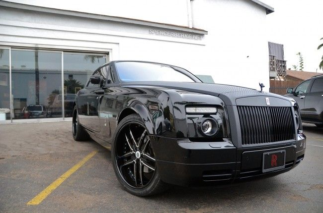 Carbon Fiber Wrapped Rolls-Royce Phantom