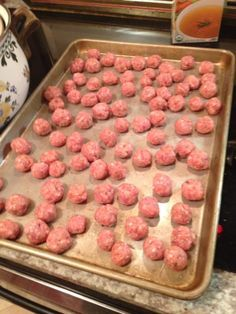 Italian wedding soup-- mini meatball recipe too!