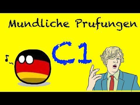 Deutsch B1 / B2 - Mündliche Prüfung: sich vorstellen | Deutsch lernen für Ausländer mit Modellprüfun - YouTube
