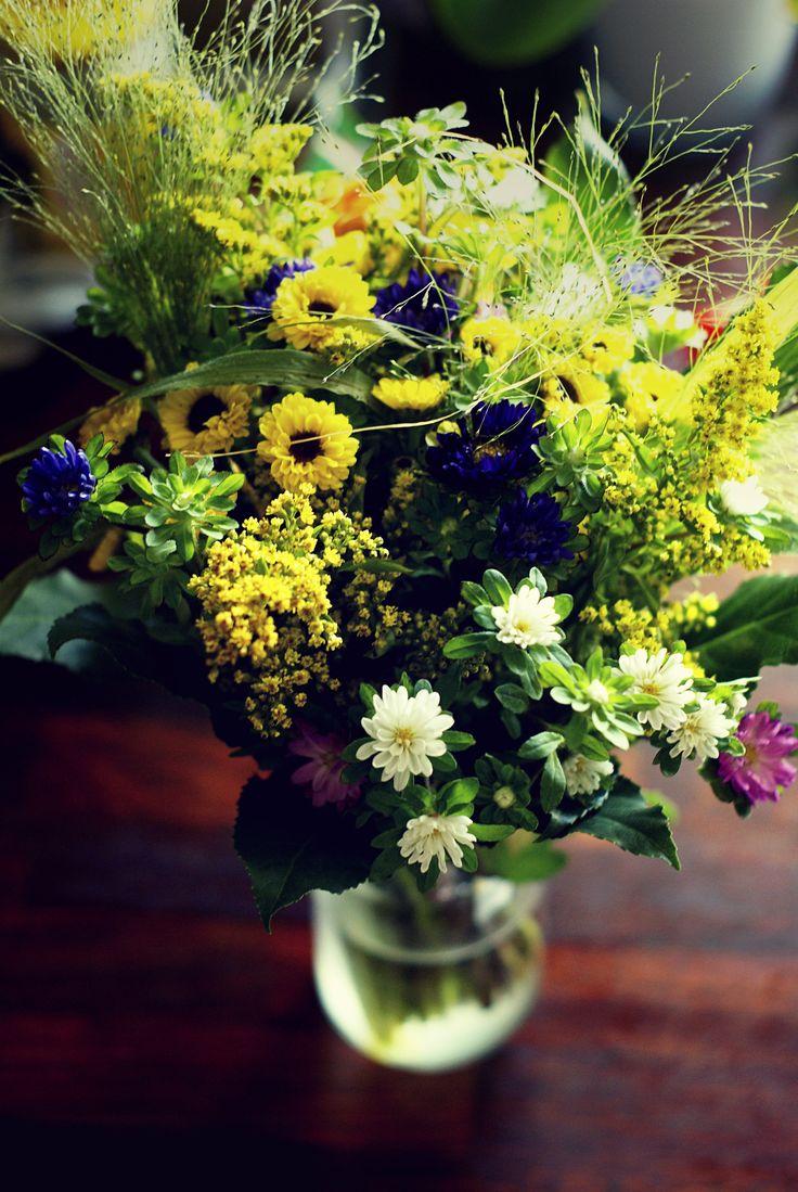 Kwiaty z 'łąki'
