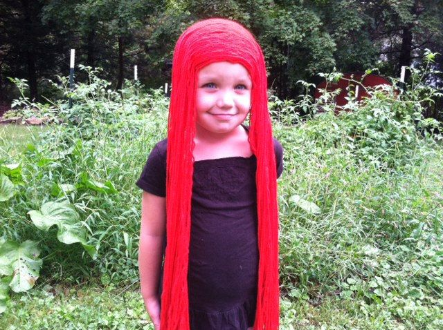 Long Red Wig, Sally Wig, Nightmare Before Christmas Wig, Sally Costume, Sally Nightmare, Poison Ivy Costume, Poison Ivy Wig by PoshPrincessBraids on Etsy https://www.etsy.com/listing/247566189/long-red-wig-sally-wig-nightmare-before