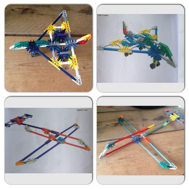 Vliegtuigen knex