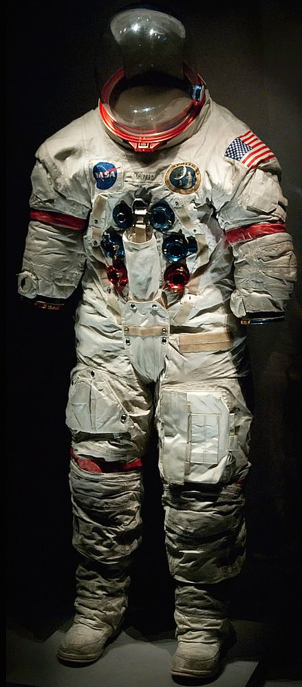 an astronaut in a space suit is motionless in outer space - photo #46