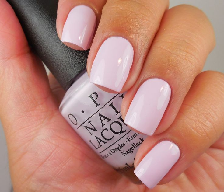 OPI: ❤ I'm Gown for Anything ❤ ...  ... a light pink nail polish from the OPI Alice Through The Looking Glass Collection 2016