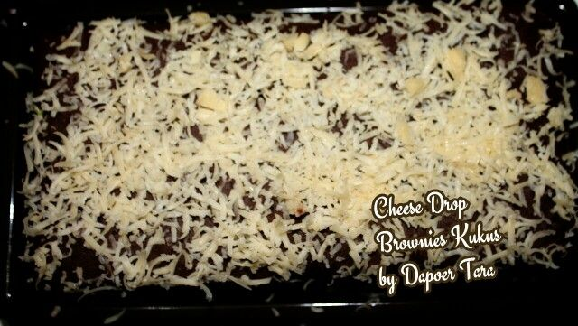 Cheese drop Brownies