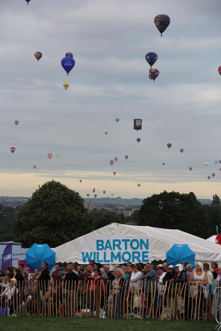 Barton Willmore Bristol International Balloon Fiesta 2013