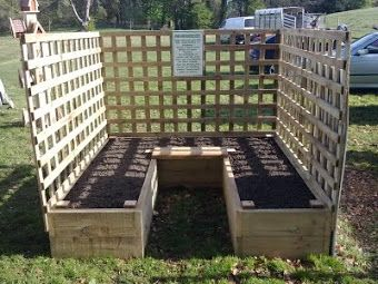 The Easy Access raised bed