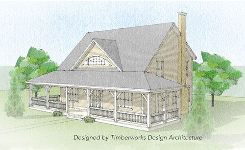Pin by Timberhaven Log & Timber Homes on Timber Frame Homes Designs ...